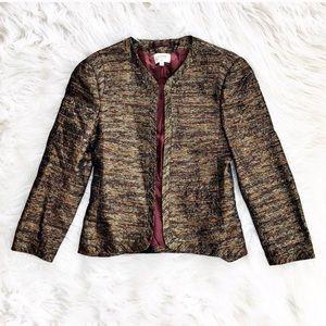 Wilfred Pirouette metallic tweed blazer or jacket